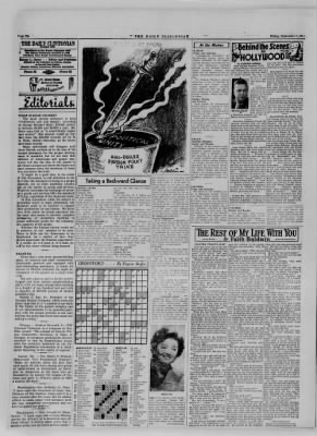 The Daily Clintonian from Clinton, Indiana on September 1, 1944 · Page 6