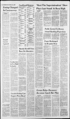 The Palm Beach Post from West Palm Beach, Florida on November 7, 1968 · Page 2