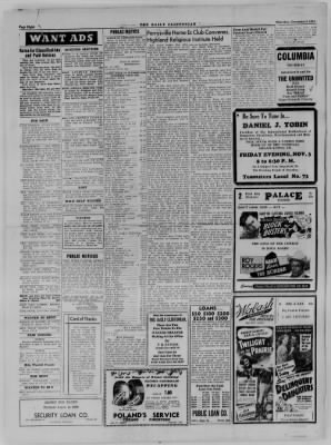 The Daily Clintonian from Clinton, Indiana on November 2, 1944 · Page 8
