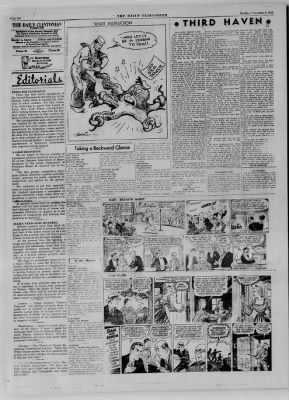 The Daily Clintonian from Clinton, Indiana on November 6, 1944 · Page 6