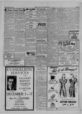 The Daily Clintonian from Clinton, Indiana on December 1, 1944 · Page 5