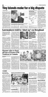 Democrat and Chronicle from Rochester, New York on October 19, 2015 · Page B2