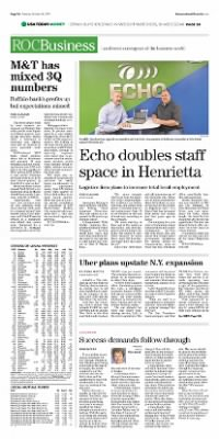 Democrat and Chronicle from Rochester, New York on October 20, 2015 · Page A6