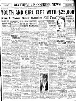 The Courier News from Blytheville, Arkansas on December 31, 1930 · Page 1
