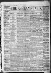 Sample The States and Union front page