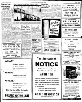 The Courier News from Blytheville, Arkansas on April 7, 1947 · Page 9