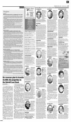 detroit free press from detroit michigan on september 24 2014 page a9 - Santeiu Funeral Home Garden City Michigan