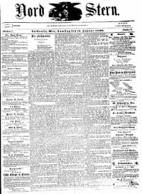 Sample Nord Stern front page