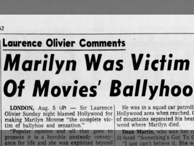 Victim of Movies' Ballyhoo