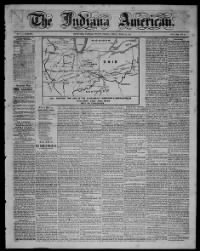 Sample Indiana American front page