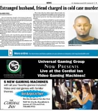 Sample Suburban Life front page