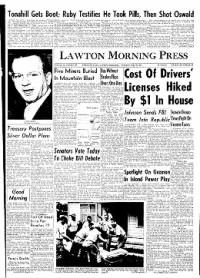 Sample Lawton Morning Press front page