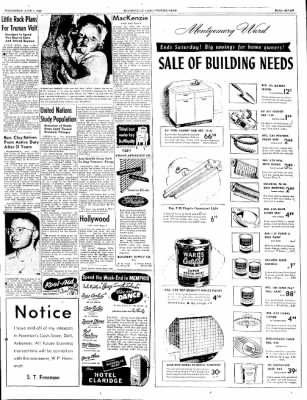The Courier News from Blytheville, Arkansas on June 1, 1949 · Page 7