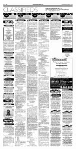 Sample Door County Advocate front page