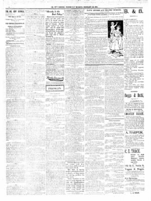 The Oil City Derrick from Oil City, Pennsylvania on February 22, 1899 · Page 3