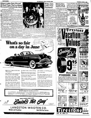 The Courier News from Blytheville, Arkansas on June 9, 1949 · Page 13