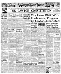 Sample The Lawton Constitution front page