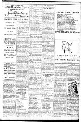 Logansport Pharos-Tribune from Logansport, Indiana on January 27, 1891 · Page 5