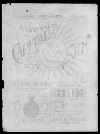 Sample Illustrated Capital Sun front page