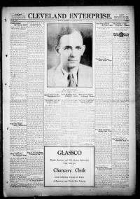 Sample Cleveland Enterprise front page