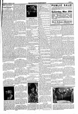 The Independent from Hawarden, Iowa on March 23, 1939 · Page 7