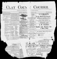 Sample The Corning Courier front page