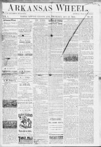 Sample Arkansas Wheel front page