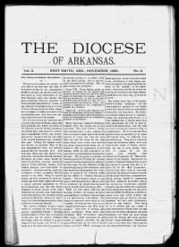 Sample The Diocese of Arkansas front page