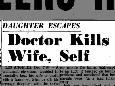 Los Feliz Murder-Suicide