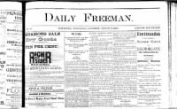 Sample Daily Freeman front page