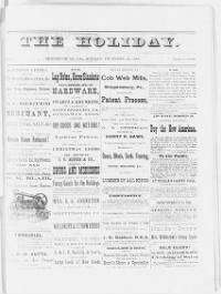 Sample The Holiday front page