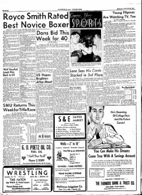The Courier News from Blytheville, Arkansas on January 23, 1956 · Page 6