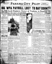 Sample Panama City Pilot front page
