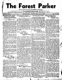 Sample Forest Parker front page