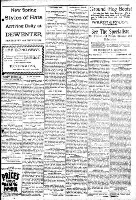 Logansport Pharos-Tribune from Logansport, Indiana on February 14, 1895 · Page 5