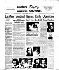Sample Le Mars Daily News Sentinel front page