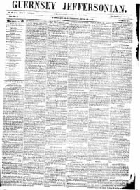 Sample Guernsey Jeffersonian front page
