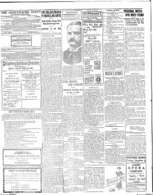 The Gettysburg Times from Gettysburg, Pennsylvania on October 1, 1913 · Page 4