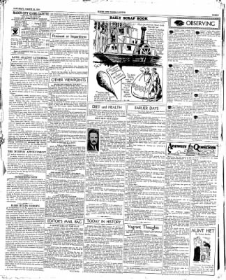 The Mason City Globe-Gazette from Mason City, Iowa on March 24, 1934 · Page 3