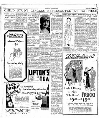 The Mason City Globe-Gazette from Mason City, Iowa on February 27, 1931 · Page 6
