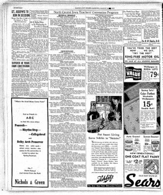 The Mason City Globe-Gazette from Mason City, Iowa on March 16, 1937 · Page 18