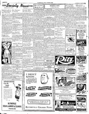 The Courier News from Blytheville, Arkansas on May 31, 1952 · Page 2