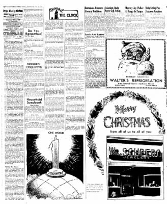 Naugatuck Daily News from Naugatuck, Connecticut on December 24, 1949 · Page 4