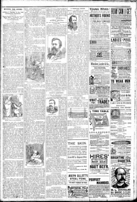 Logansport Pharos-Tribune from Logansport, Indiana on March 14, 1891 · Page 6
