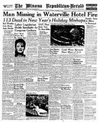Sample The Winona Republican-Herald front page