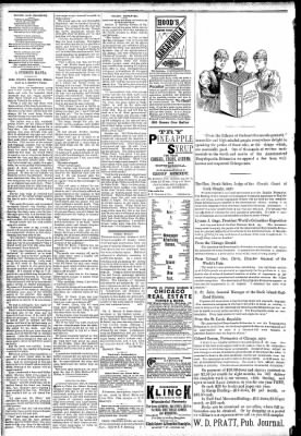 Logansport Pharos-Tribune from Logansport, Indiana on March 20, 1891 · Page 2