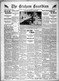 Sample Graham Guardian front page