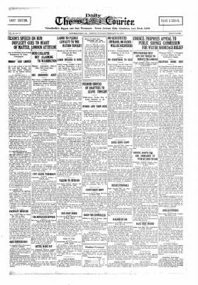 The Daily Courier from Connellsville, Pennsylvania on February 12, 1918 · Page 1