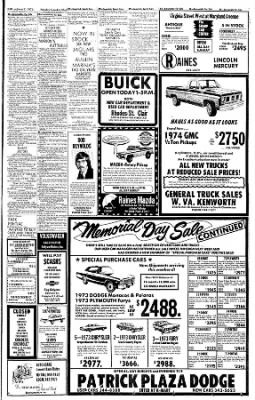 Sunday Gazette-Mail from Charleston, West Virginia on June 2, 1974 · Page 73