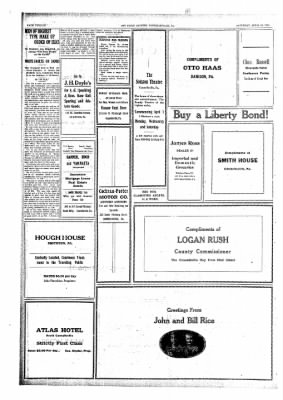 The Daily Courier from Connellsville, Pennsylvania on April 15, 1918 · Page 12